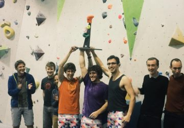Climbing Team Winners